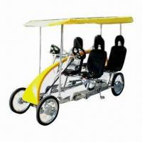 Roadster Bicycle with Quad-Cycle, Two Passengers will Cycle at the Same Speed Manufactures