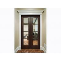 China Eco-friendly Custom Timber Doors with 40mm / 45mm Door Leaf on sale