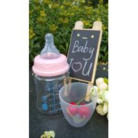 150ml With Teat Borosilicate Baby Glass Water Bottle For Milk And Water Manufactures