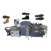 Plastic / Canvas Shoe Sole Making Machine 10 / 12 Stations with 2 Years Gurantee Manufactures