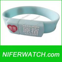 Silicone USB Fashion Bracelet Manufactures