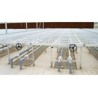 movable Plant nursery equipment steel bed with aluminum frame , 1.5m wide Manufactures