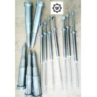 SKD61 Metal Threaded Inserts For Plastic Injection Mold Ejector Sleeve Ejector Pin DME Manufactures
