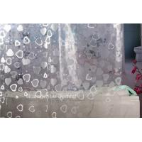 New factory custom made EVA bath/shower curtain easy-cut low MOQ on sales Manufactures