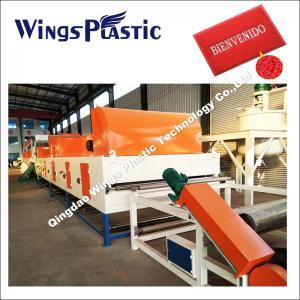 China Plastic Floor Mat Production Line , PVC Materials Carpet Making Machine on sale
