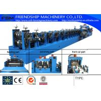 Cold Rolled Or Galvanized C Z Purlin Roll Forming Machine With 15m/Min Manufactures