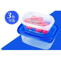 China Clear Bowl disposible plastic containers for Soup / Fruit , 310ml IML PP Plastic Clear Fruit Bowl on sale