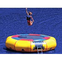 Jumping Water Trampoline Inflatable Water Toys Waterproof PVC Manufactures