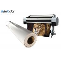China Waterproof 8mil Matte Polypropylene Film Roll For Banner Printing on sale
