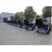 Trailer type Diesel Water Pump Set With Cummins Diesel Engines For Agriculture irrigation Manufactures