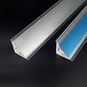 Aluminum brushed pvc countertop plinth concave Manufactures