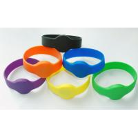 High quality 85.5*54mm Silicone rfid wristband with RFID UITRALIGHT chip, PVC , PET , ABS Manufactures