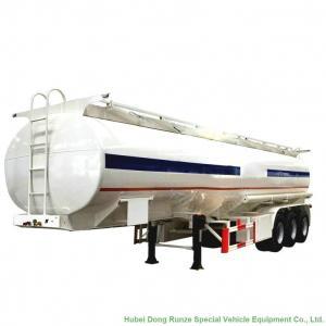 48m3 Aluminum Fuel Tanker Semi Trailer Tri Axle For Diesel ,Oil , Gasoline, Kerosene  Transport  48T-50Ton Manufactures