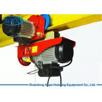 PA Electric Cable Hoist 110V , Electric Crane Hoist Wireless Remote Control Manufactures