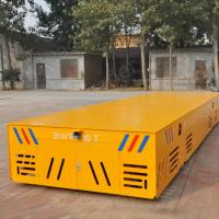 Self-propelled explosion proof battery operated trackless transfer car Manufactures