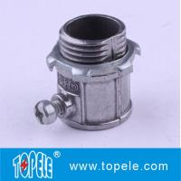 "1/2"" To 4"" Metallic Electrical EMT Conduit And Fittings Aluminum Connector Manufactures"
