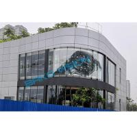 China P10 Outdoor IP65 Transparent LED Display SMD 3840Hz RGB 5500 Nits Glass Video Wall on sale