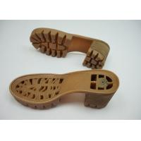 Quality RJ-178 Plastic Injection TPR Outsole For Sandal / Leather Shoe Making for sale