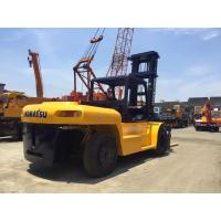 2 Stage High Mast 25 Ton Heavy Duty Forklift , FD250 Used Komatsu Forklift Manufactures
