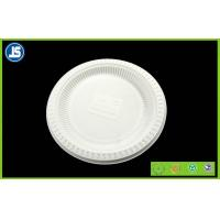 White Biodegradable Disposable Compostable Cornstarch Bio-based Food Trays Manufactures