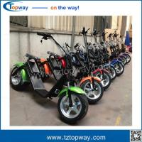 City Coco Electric Mobility Scooter Fat Tire Electric Motorcycle with front shock