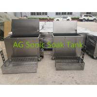 China Mobile Heated Fast Food Stainless Steel Soak Tank Chemical With Heater 2KW on sale