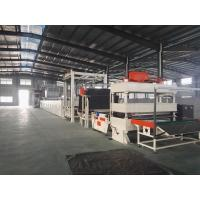 Carpet Tile Bitumen Production Line Or Continuous Operation Separate Cutting Control Manufactures