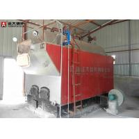 Package Boiler Wood Fired Steam Boiler / Water Tube Steam Boiler Low Running Cost Manufactures