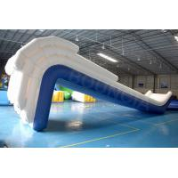 China Factory Price Airtight Inflatable Floating Yacht Water Slide on sale