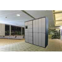 China Safe Electronic Rental Locker For Water Park / Station / Airport , Smart Software Control on sale