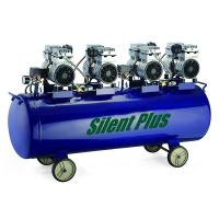 China 4.0 hp Low-noise oilless Piston air compressor SP-3000/180 on sale