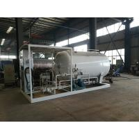 China 5mt LPG Skid Station Gas LPG Tank 10000 Liters With Customized Color on sale