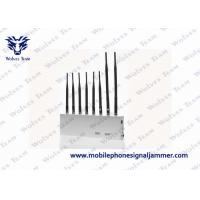 Multifunctional 4G Cell Phone Signal Jammer White Color For Conference Room Manufactures