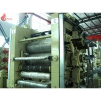 Artificial leather PVC Calender Machine High Precision / 4 roll calendering machine Manufactures