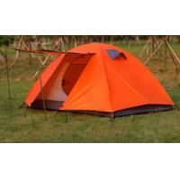Hiking Travel double walled tent / emergency shelter tent with Aluminum pole Manufactures