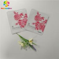 China Plastic Cosmetic Packaging Bagsample Sachet Facial Mask Three Sides Seal Bag on sale