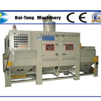 Anti Explosion Automatic Sandblasting Machine Compact Working Cabinet For Steel Plate Manufactures