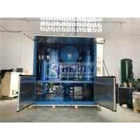 Weather Proof Type Three-stage Filter Dielectric Oil Purifier Machine 9000Liters/Hour Manufactures
