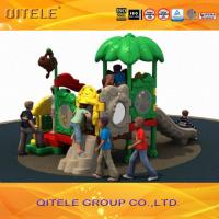 Outdoor Children Playground Equipment With Multi Slides LLDPE Manufactures