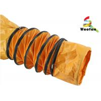 Bendable 12 Inch Fire Resistant Flexible Ducting Fireproof High Temperature Manufactures