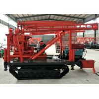 China XY-200 Hydraulic Crawler Mounted Drill Rig For Stone Bore Hole CE Certification on sale