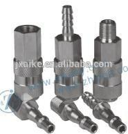 European type pneumatic quick coupler stainless steel material Manufactures