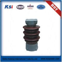 ANSI standard high voltage porcelain station post insulator Manufactures