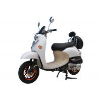 Hydraulic Suspension Motorcycles Scooters / Gas Motor Scooters For Adults Manufactures