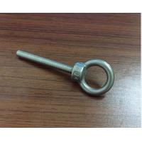 M3 M4 M5 M6 Stainless Steel Bolt , Lifting Stainless Steel Eye Bolts With High Precise Manufactures