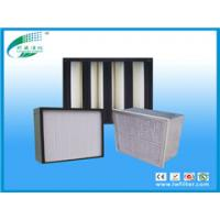 Quality H14 HEPA filter, Mini-pleated hepa filter for terminal ventilation systems for sale
