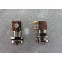 Security Push Pull EPS male Coaxial Connector For Printed Circuit Board Mounting Manufactures