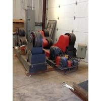 VDF Control Rubber Wheels Pipe Welding Tank Turning Rolls Drive By 4 Motor Power Manufactures