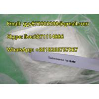 Testosterone Acetate Muscle Building Steroids With White Powder Appearance Manufactures