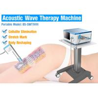 China High Precision Acoustic Wave Therapy Shockwave Therapy Equipment For Cellulite / Fat Reduction on sale